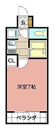 ライオンズマンション小倉駅南第2 606[606号室]の間取り
