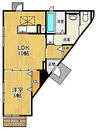 エテルノ阪急伊丹plus[1階]の間取り