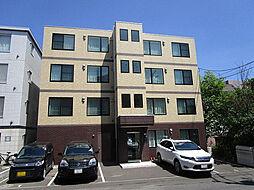 北海道札幌市西区発寒一条4丁目の賃貸マンションの外観