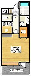 IVY SQUARE[14階]の間取り