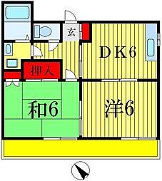 秋本ビル[3階]の間取り