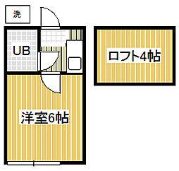 プラザ・ドゥ・パルム[2階]の間取り