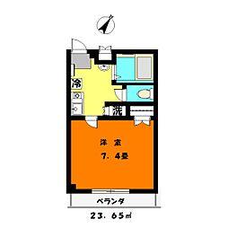 ふれんどビル[3階]の間取り