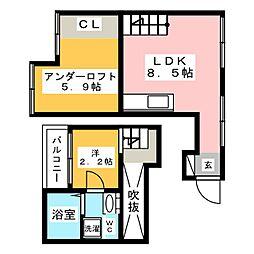 近鉄八田駅 5.4万円