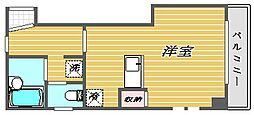 東京都北区中里3丁目の賃貸マンションの間取り