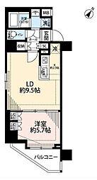 東京都墨田区向島5丁目の賃貸マンションの間取り