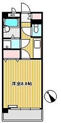 第2サンハイツ台原[4階]の間取り