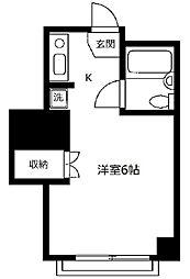 東京都江戸川区船堀2丁目の賃貸マンションの間取り