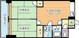 ハイツ福[304号室]の間取り