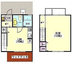 [テラスハウス] 千葉県我孫子市白山2丁目 の賃貸【/】の間取り