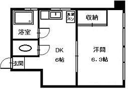第一堀田ビル[3階]の間取り
