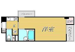 プレール芦花公園[7階]の間取り