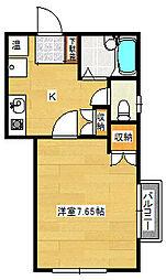 ストーミーI[2階]の間取り