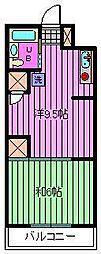 武蔵浦和宝マンション[4階]の間取り