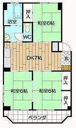 大窄ビル[305号室]の間取り