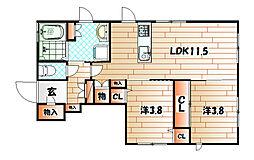 春の町 宮崎邸[1階]の間取り