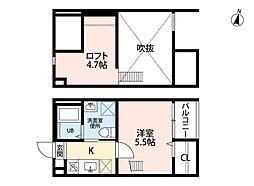 愛知県名古屋市南区堤町1の賃貸アパートの外観