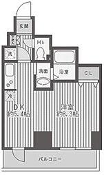 レジディア蒲田[8階]の間取り