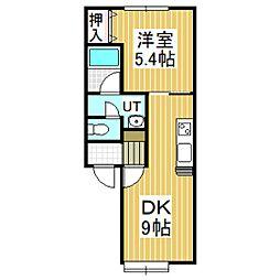 MINAMI[2階]の間取り