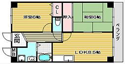 etoile 5[6階]の間取り