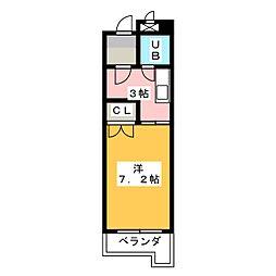 ネオウィスタリア1[4階]の間取り