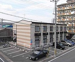 京都府京都市伏見区毛利町の賃貸アパートの外観