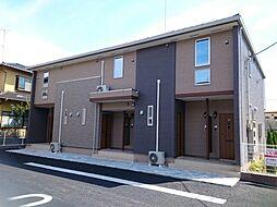 千葉県東金市川場の賃貸アパートの外観