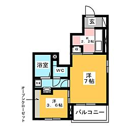 西小坂井駅 4.6万円