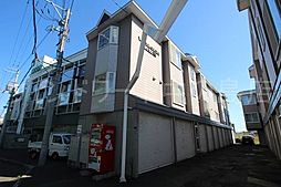 北海道札幌市豊平区平岸一条12丁目の賃貸アパートの外観