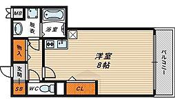 ドリームネオポリス鶴見3[4階]の間取り