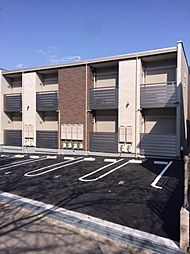 兵庫県三木市自由が丘本町2丁目の賃貸アパートの外観