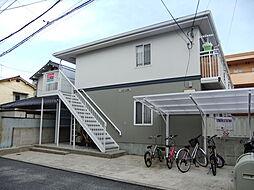 広島県広島市南区皆実町6丁目の賃貸アパートの外観