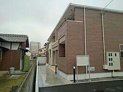 愛媛県新居浜市坂井町3丁目の賃貸アパートの外観