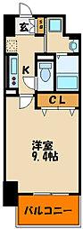 樽屋町マンション[4階]の間取り