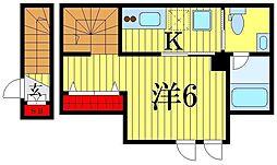 ARUITTE SHIBAMATA[2階]の間取り