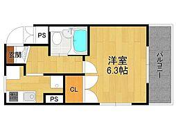 ふたばマンション[303号室]の間取り