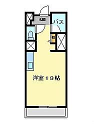 プリマヴェール名駅ノルテ[905号室]の間取り