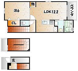 T&AドリームII[3階]の間取り