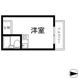 ライラック小阪[306号室号室]の間取り