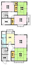 [一戸建] 滋賀県草津市平井6丁目 の賃貸【/】の間取り