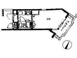 ドム登戸II[2階]の間取り