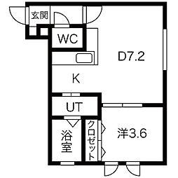 南郷18丁目駅 4.5万円