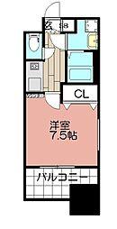 エンクレスト博多駅前III(502)[502号室]の間取り