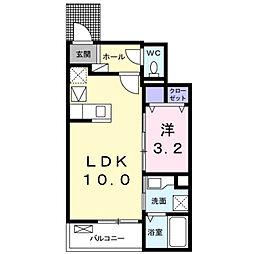 深野3丁目アパート2[0101号室]の間取り