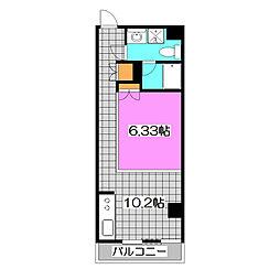 Dimension-5 〜ディメンションファイブ〜[2階]の間取り