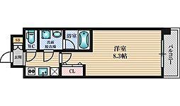 スプランディッド新大阪3[3階]の間取り