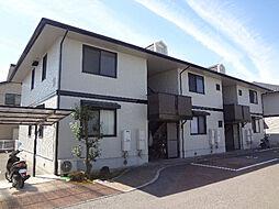 愛媛県松山市北井門3丁目の賃貸アパートの外観