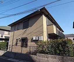 京都府京都市西京区樫原久保町の賃貸アパートの外観