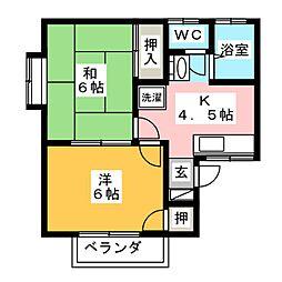 スマイルハウス[2階]の間取り