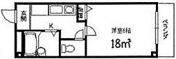 バモス2[206号室]の間取り